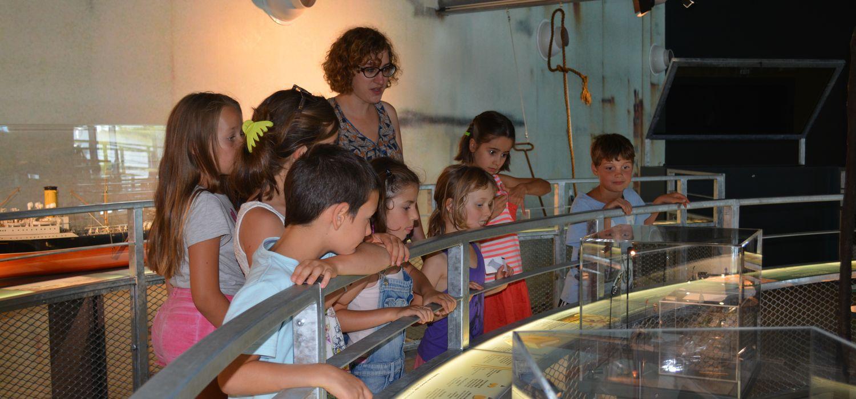 ateliers rigolos à muséoseine le musée de la seine normande à Caudebec-en-Caux