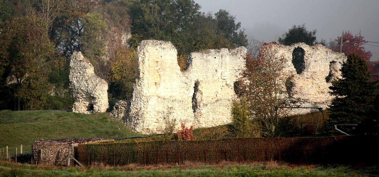 le chateau de Vatteville-la-Rue