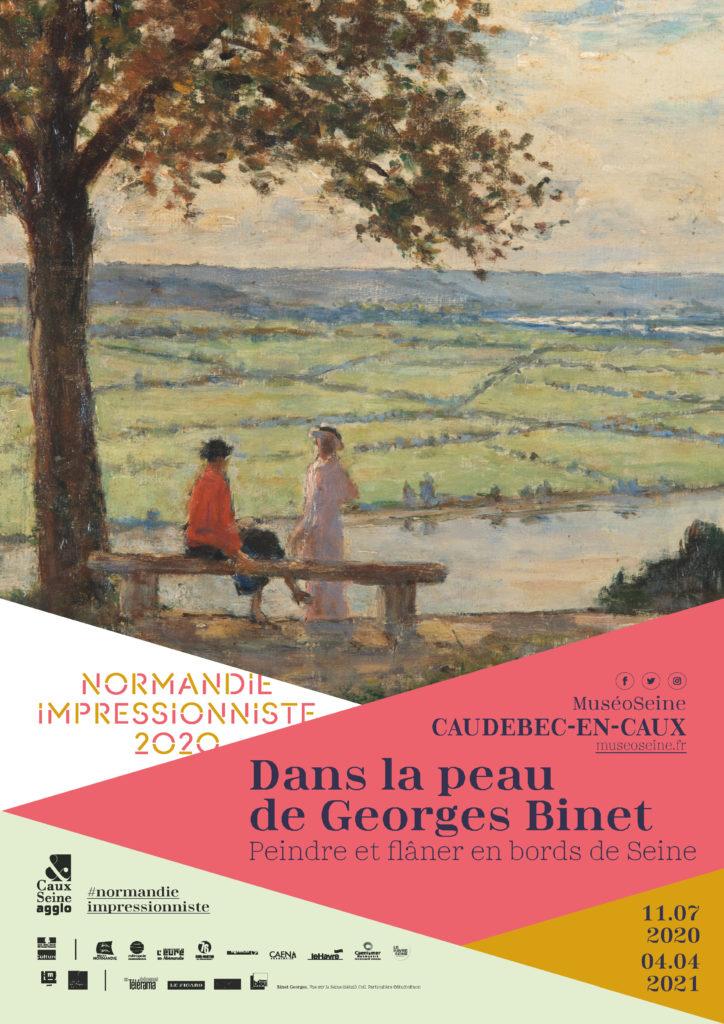 EXPOSITION : « DANS LA PEAU DE GEORGES BINET, PEINDRE ET FLÂNER EN BORDS DE SEINE »
