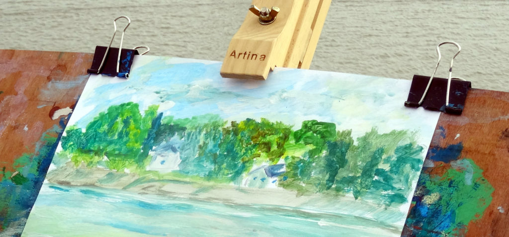 Sur les traces de Claude Monet
