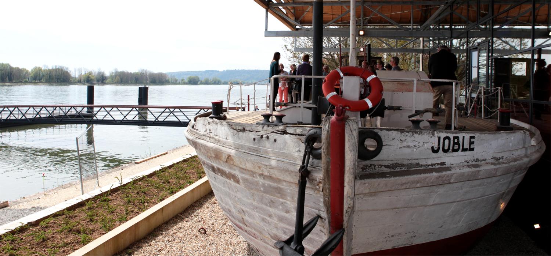 Restauration de la dernière gribane de Seine